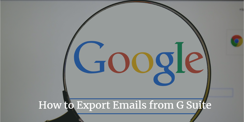 how to export g suite emails