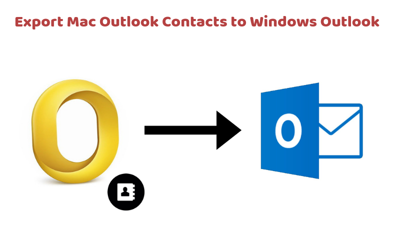 How to Export Mac Outlook Contacts to Windows Outlook