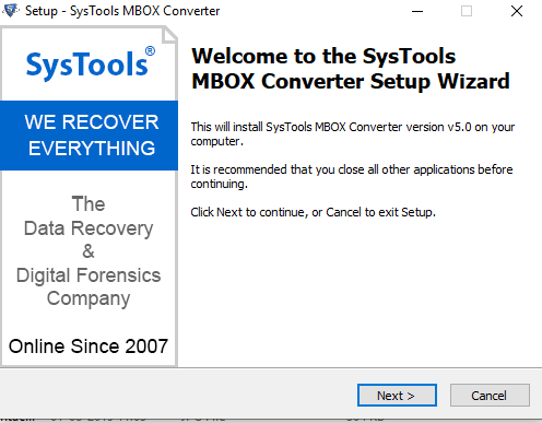 systools mbox to outlook converter