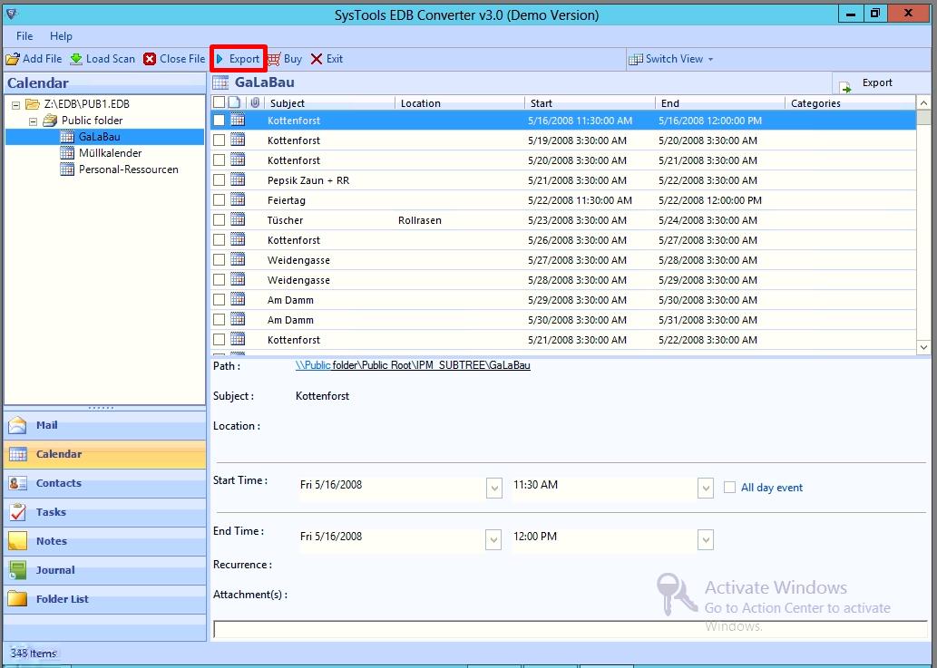 preview public folder data